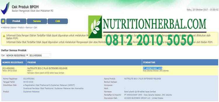 NUTRILITE Bio C Plus 1 day release