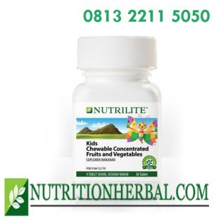 NUTRILITE Chewable Concentrated Fruits & Vegetables