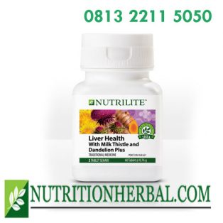 NUTRILITE Liver Health with Milk Thistle and Dandelion Plus Antioksidan Untuk Hati